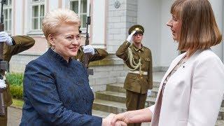 Prezidentė su valstybiniu vizitu lankosi Estijoje