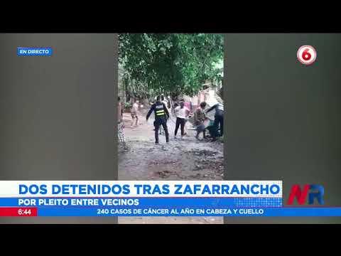 Dos detenidos tras zafarrancho en Esparza de Puntarenas