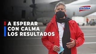 ????????Presidente Francisco Sagasti reitera llamado a esperar con calma los resultados de las elecciones