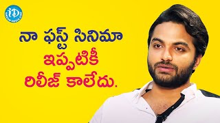 My First Movie Hasn't Been Released - Vishwaksen | Talking Movies with iDream | iDream Movies - IDREAMMOVIES
