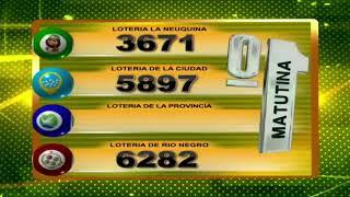 RESULTADO DE QUINIELA MATUTINA Nº 23394 / 21-05-20 - LOTERIA LA NEUQUINA