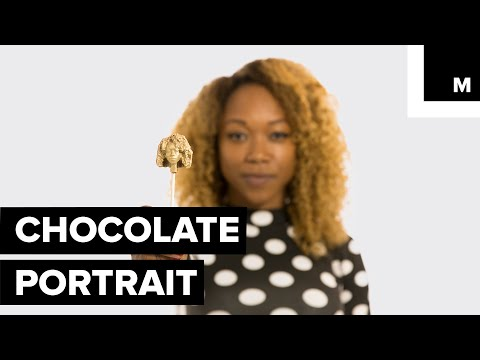 This High-tech Candy Shop Carves Your Face Out of Belgian Chocolate