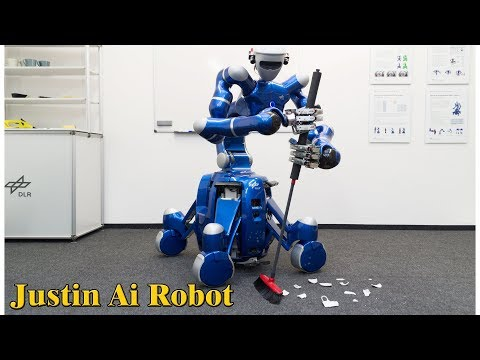 Justin Ai Robot - Best Humanoid robot & His Unexpected Talent-Helping Household Work &  Astronauts