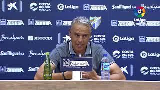 Rueda de prensa Málaga CF vs Alabacete BP