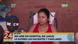 Luque: Sin aire acondicionador y sin higiene en Hospital General