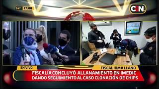 Allanamiento en Imedic S.A - Fiscales, Abg. Irma Llano y Abg. Silvina Otazu