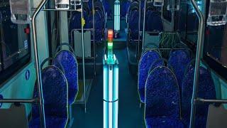 Lanzan en EE.UU un programa piloto de luz ultravioleta para desinfectar el transporte público