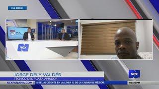 Entrevista a Jorge Dely Valdés y Fran Perlo, sobre el sorteo liga de campeones Concacaf