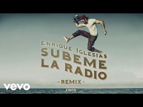 Enrique Iglesias - SUBEME LA RADIO REMIX (Lyric) ft. CNCO
