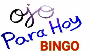 RESULTADOS de HOY...!! ((( 69 ))) BINGO HOY / SORTEOS loteria GANA MÁS hoy /NÚMEROS RECOMENDADO HOY