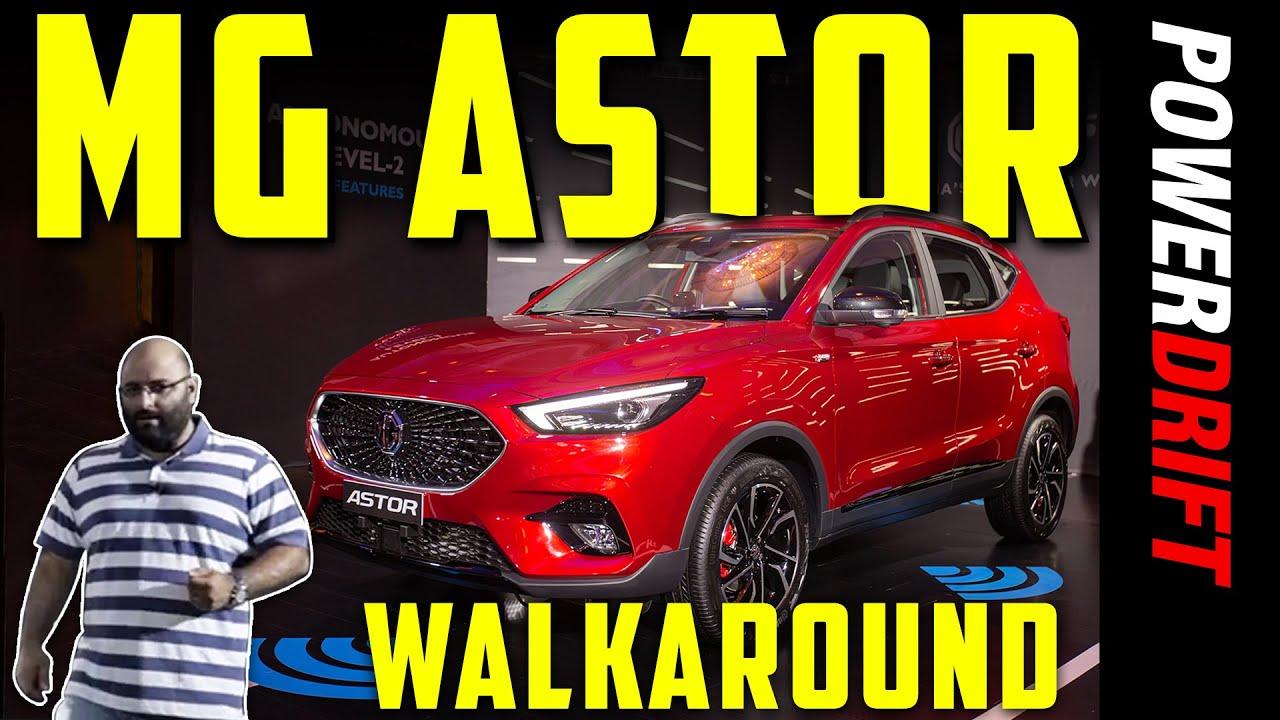 MG Astor - An SUV with a Robot??   Walkaround   PowerDrift