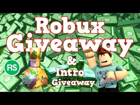connectYoutube - Robux Giveaway + Intro Giveaway | 50000 Subscribers Special
