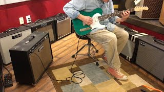 Michael Tuttle Tuned ST Trans Teal - Quick 'n' Dirty