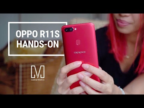 OPPO R11s Unboxing and Hands-On