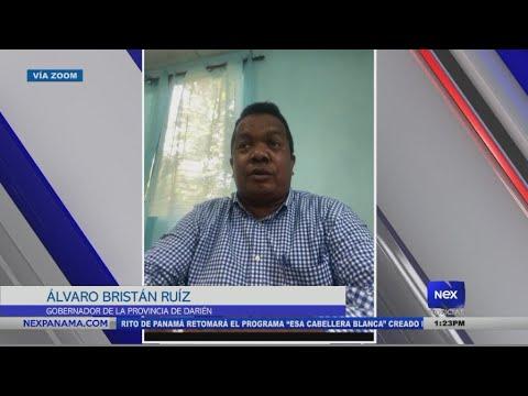 Entrevista al Gobernador Álvaro Ruíz sobre los inmigrantes varados en la frontera de Colombia