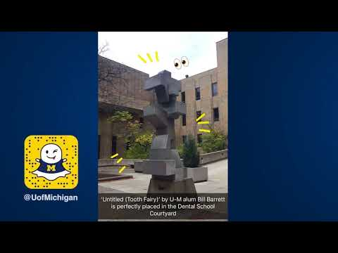 Snapchat Story: Arriving Home & Campus Art