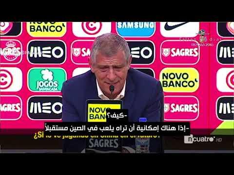 فلورنتينو بيريز ومدرب البرتغال يسخران من أخبار سكولاري