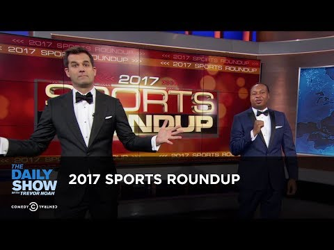connectYoutube - 2017 Sports Roundup: The Daily Show
