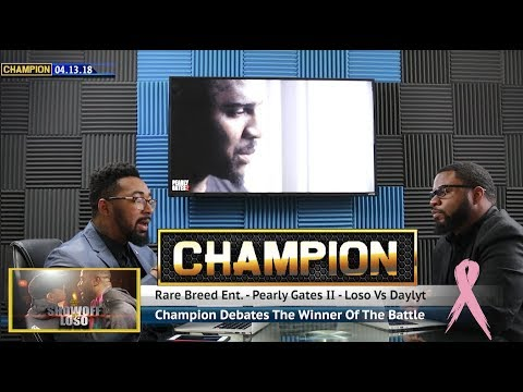 CHAMPION | DAYLYT VS LOSO - PEARLY GATES II - RBE