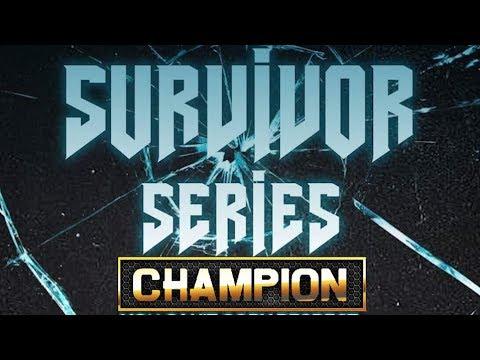 CHAMPION | SURVIVOR SERIES ONE OFF'S - SMACK/URL