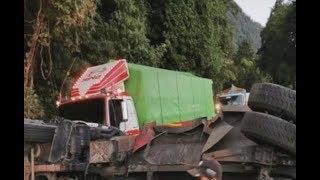Paso bloqueado por múltiple colisión en la ruta Cito Zarco