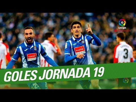 Todos los goles de la Jornada 19 de LaLiga Santander 2017/2018