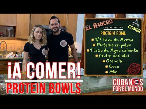 ¡A Comer!  Preparando Protein Bowls  (lunes 22 de febrero 2021)