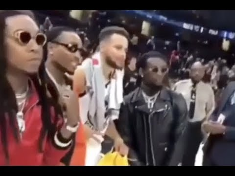connectYoutube - Quavo Ask Stephen Curry For His Game Shoes After Beating Cavs