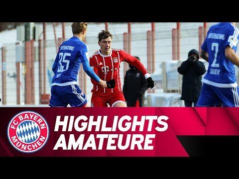 Highlights: FC Bayern Amateure mit Testsieg gegen die SpVgg Unterhaching