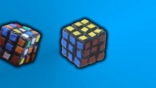 Solving the World's Smallest Rubik's Cube