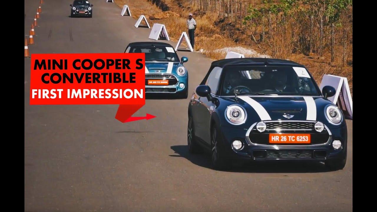 ಮಿನಿ ಕೂಪರ್ ಎಸ್ ಕನ್ವರ್ಟಿಬಲ್ : ಪ್ರಥಮ drive : powerdrift