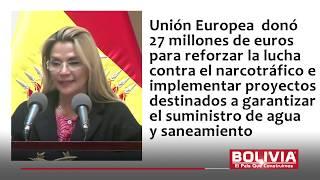 UNIÓN EUROPEA RESPALDA GOBIERNO AÑEZ