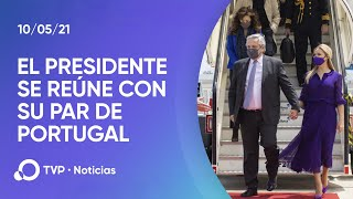 El Presidente se reúne con su par de Portugal