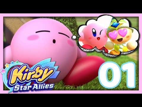 connectYoutube - KIRBY ET SES AMIS ! | KIRBY STAR ALLIES EPISODE 1 CO-OP NINTENDO SWITCH FR