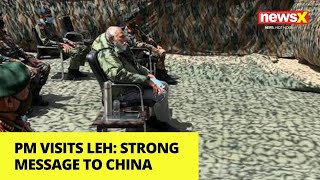 PM Modi, CDS visit Leh | Strong message to China |NewsX - NEWSXLIVE