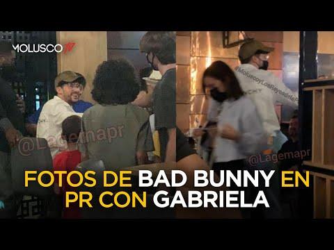 FOTOS EXCLUSIVAS de Bad Bunny con Gabriela causan DISCUSIÓN terrible en el estudio ¿ Que Opinas TÚ