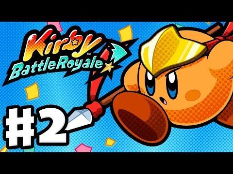 connectYoutube - Kirby Battle Royale - Gameplay Walkthrough Part 2 - Story Mode Bronze League! (Nintendo 3DS)