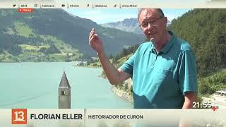 Después de 70 años sumergido, un pueblo de Italia resurgió desde el fondo de un lago