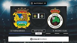 CF Fuenlabrada - R. Racing Club MD39 M2030
