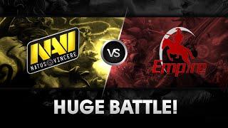 Huge battle by Na`Vi vs Empire @ GSL 2014