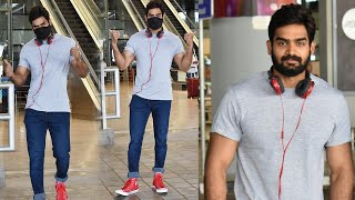 Actor Kartikeya Gummakonda Spotted At Airport | Celebrities Aiport Videos | TFPC - TFPC