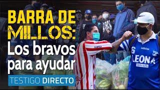 Los comandos azules acuden al llamado de los trapos rojos en Bogotá - Testigo Directo