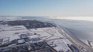 Ola de frío polar hiela la Patagonia argentina con temperaturas de -16°