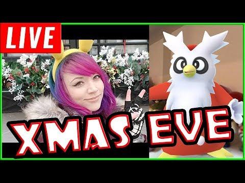 connectYoutube - AR Plus Xmas Eve Livestream with Pokemon Go!