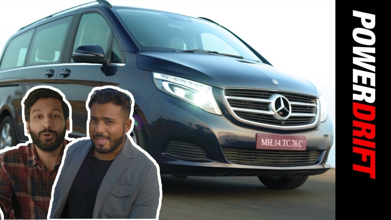 Mercedes Benz V Class : Who is it for? feat. Kanan Gill : PowerDrift