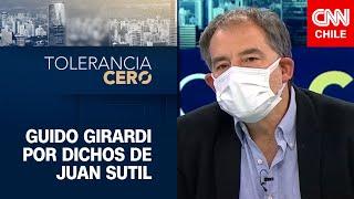 """Guido Girardi: """"Lo que dijo Juan Sutil fue una provocación, un daño innecesario"""""""