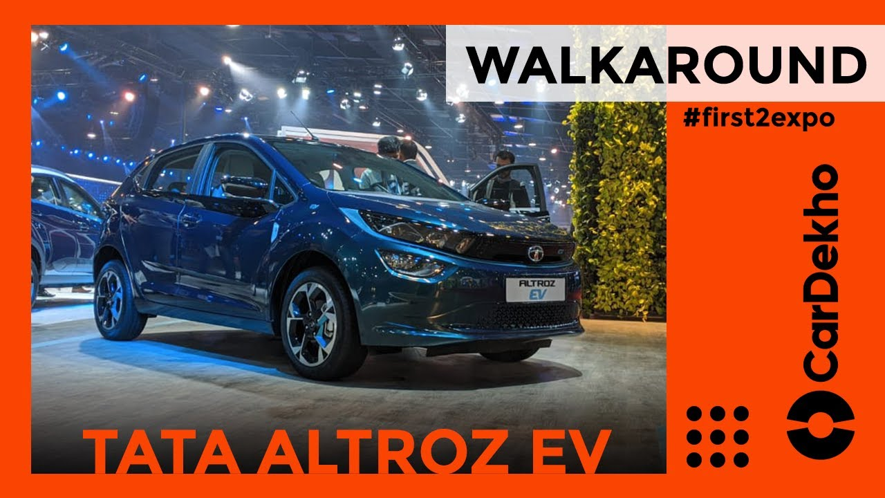 Tata Altroz EV Walkaround Review | Electric Car Ke Saath Electric Value Bhi? | CarDekho.com