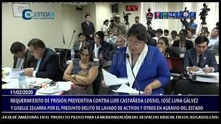 Audiencia de prisión preventiva contra Luis Castañeda Lossio (3/3)