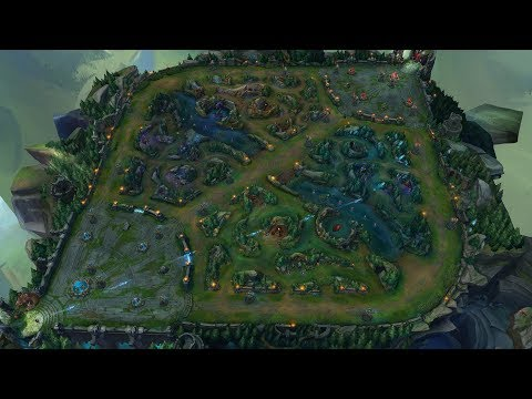 Killing the Entire Jungle With Ashe Arrows From Fountain in Under a Minute
