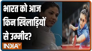 Tokyo Olympics: तलवारबाज़ी में Bhavani Devi का जलवा, Table Tennis में Monica Batra आज मैदान में - INDIATV